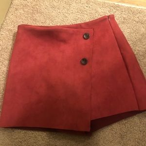 Really cute red skirt